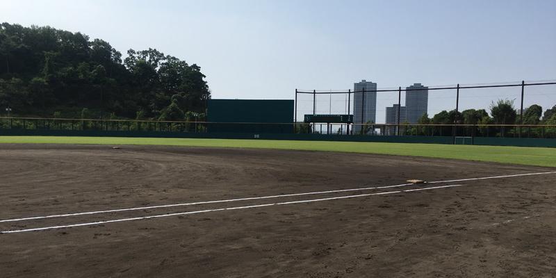 古曽部防災公園野球場