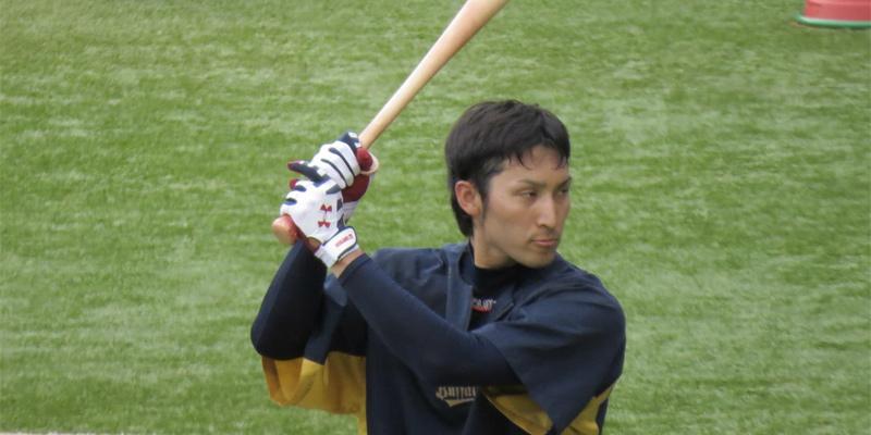 オリックス伊藤選手の手袋