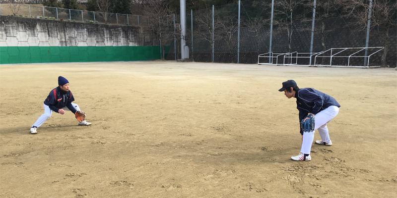 元大学軟式日本代表選手の基礎練習