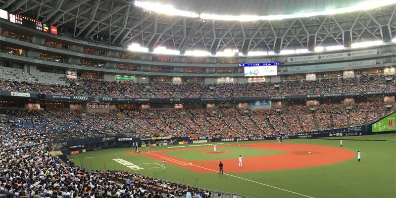 大阪ドームのグランド